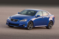 2012 Lexus IS 350, Front-quarter view, courtesy Toyota USA, exterior, gallery_worthy