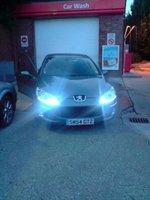 2004 Peugeot 407, new lights, exterior