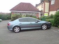 2004 Peugeot 407, blacked out, exterior, gallery_worthy