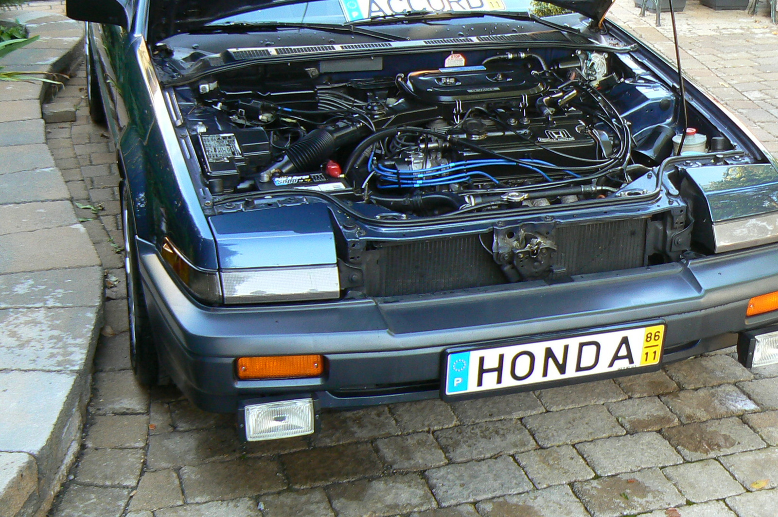 1987 Honda Accord Lxi, 1987 Honda Accord Sedan Lxi picture, engine