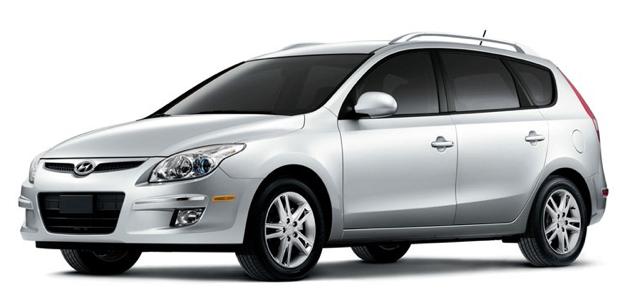 2012 Hyundai Elantra Touring, Front quarter view. , exterior, manufacturer