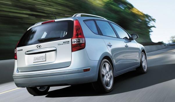 2012 Hyundai Elantra Touring, Back quarter view. , exterior, manufacturer, gallery_worthy