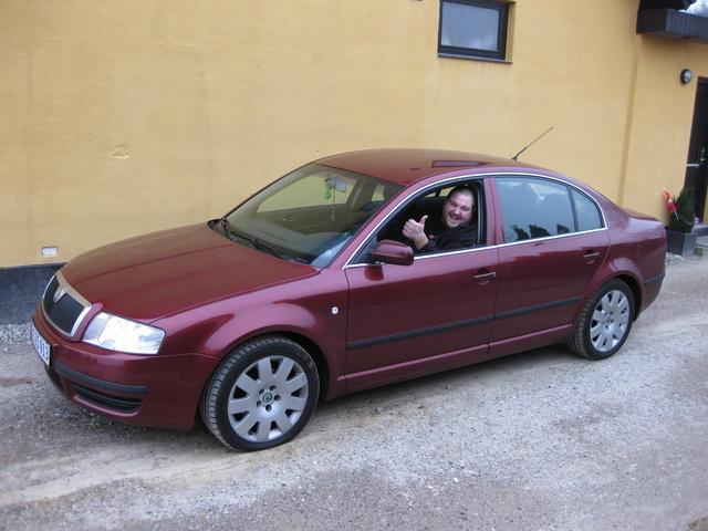 2001 Skoda Octavia, my new Skoda Superb, exterior
