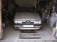 1987 Alfa Romeo 75, At the stable., exterior, gallery_worthy