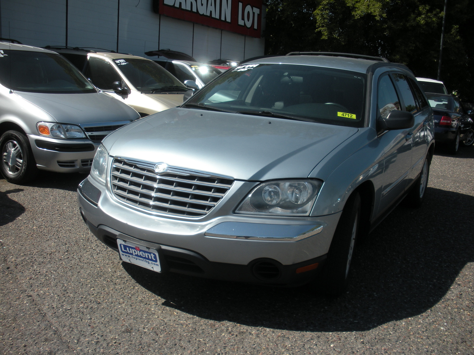 2006 chrysler pacifica limited picture exterior. Cars Review. Best American Auto & Cars Review