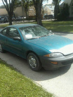 1995 Chevrolet Cavalier Base Coupe, 1995 Chevrolet Cavalier 2 Dr STD Coupe picture, exterior