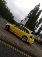 2002 MG ZR, Outside the MG-Rover plant in Longbridge, exterior
