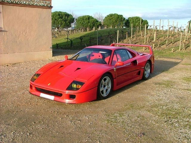 1988 ferrari f40 overview cargurus. Black Bedroom Furniture Sets. Home Design Ideas
