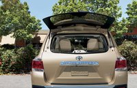 2012 Toyota Highlander Hybrid, Open trunk window. , exterior, interior, manufacturer
