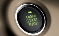2012 Toyota Highlander Hybrid, Power control button. , interior, manufacturer
