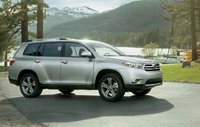 2012 Toyota Highlander Hybrid, Side View. , manufacturer, exterior