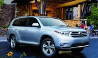 2012 Toyota Highlander Hybrid, Front quarter view. , exterior, manufacturer