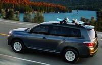 2012 Toyota Highlander Hybrid, Back quarter view. , exterior, manufacturer