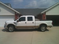2009 Ford F-250 Super Duty King Ranch Crew Cab SB 4WD, Post window tint and toolbox, exterior, gallery_worthy