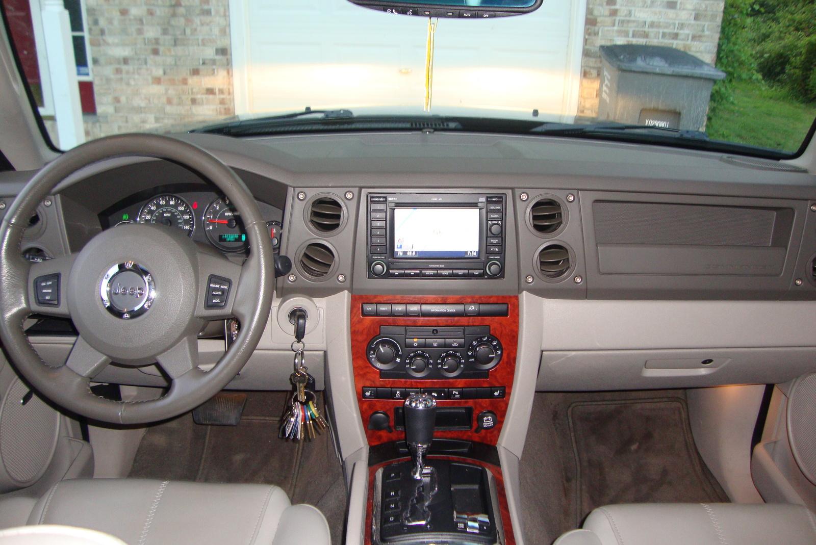 2007 Jeep Commander Interior Pictures Cargurus