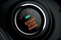 2012 Mazda MAZDA6, Power start button. , manufacturer, interior