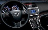 2012 Mazda MAZDA6, Close-up of steering wheel. , interior, manufacturer