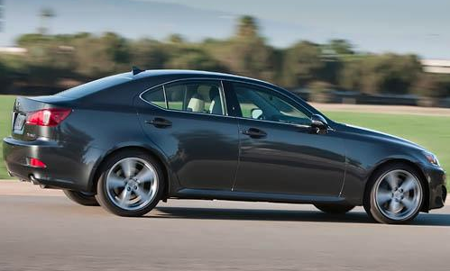 2012 Lexus IS 250, Side View. , exterior, manufacturer