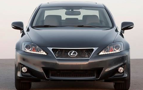 2012 Lexus IS 250, Front View. , exterior, manufacturer