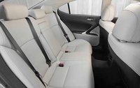 2012 Lexus IS 250, Back seat., interior, manufacturer