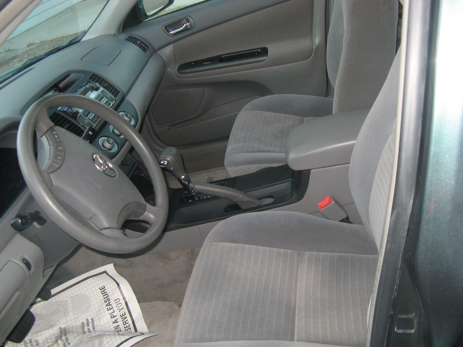 2006 toyota camry interior pictures cargurus. Black Bedroom Furniture Sets. Home Design Ideas