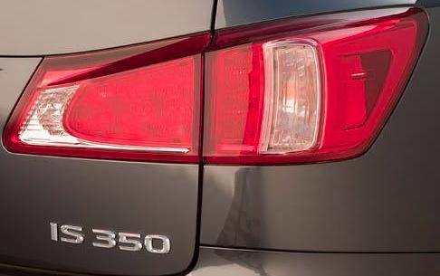 2012 Lexus IS 250, Back tail light. , exterior, manufacturer