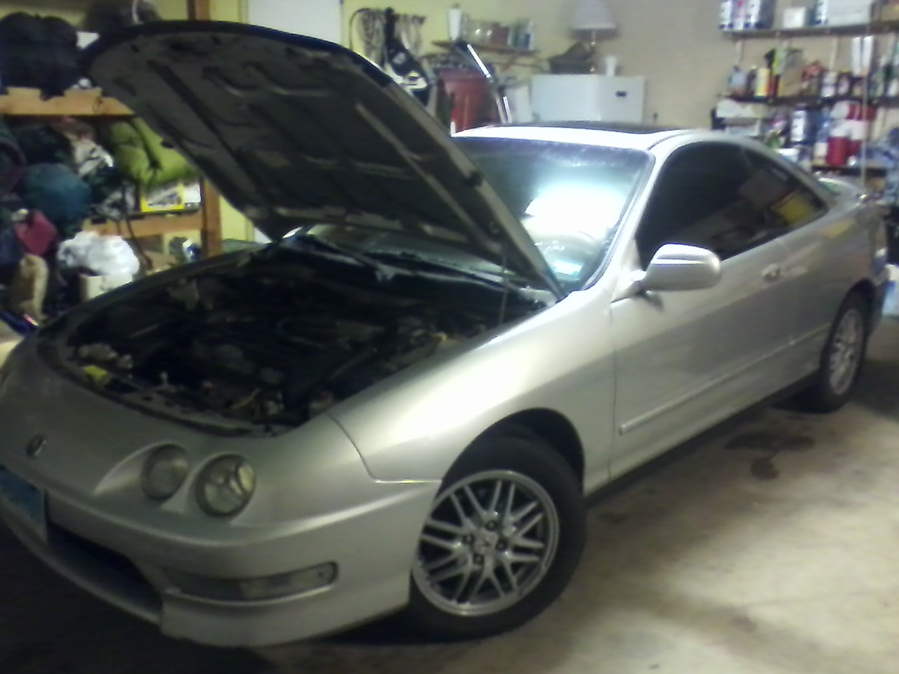 1999 Acura Integra 2 Dr LS Hatchback picture, engine, exterior