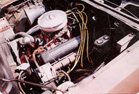 1973 Chevrolet Vega, 1971 Chevy 350, engine