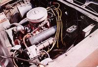 1973 Chevrolet Vega, 1971 Chevy 350, engine