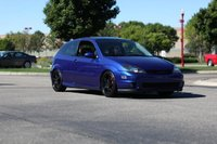 2002 Ford Focus SVT 2 Dr STD Hatchback, MNFords All Ford Car show 2010 (3rd place tuner class.), exterior