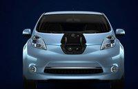 2012 Nissan Leaf, Hood., exterior, manufacturer