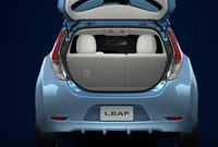 2012 Nissan Leaf, Trunk open. , interior, manufacturer