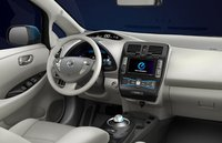 2012 Nissan Leaf, Front Seat. , exterior, interior, manufacturer