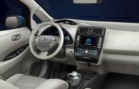 2012 Nissan Leaf, Front Seat. , interior, exterior, manufacturer