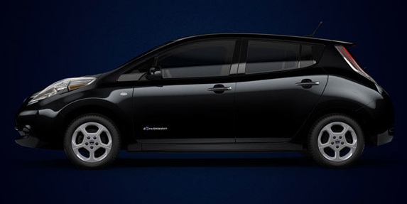 2012 Nissan Leaf, Side View. , exterior, manufacturer