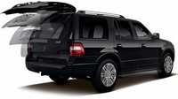 2012 Ford Expedition, Back quarter view with open trunk. , manufacturer, exterior