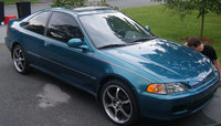 1996 Honda Civic Coupe, 1995 Toyota Tercel 2 Dr DX Coupe picture, exterior