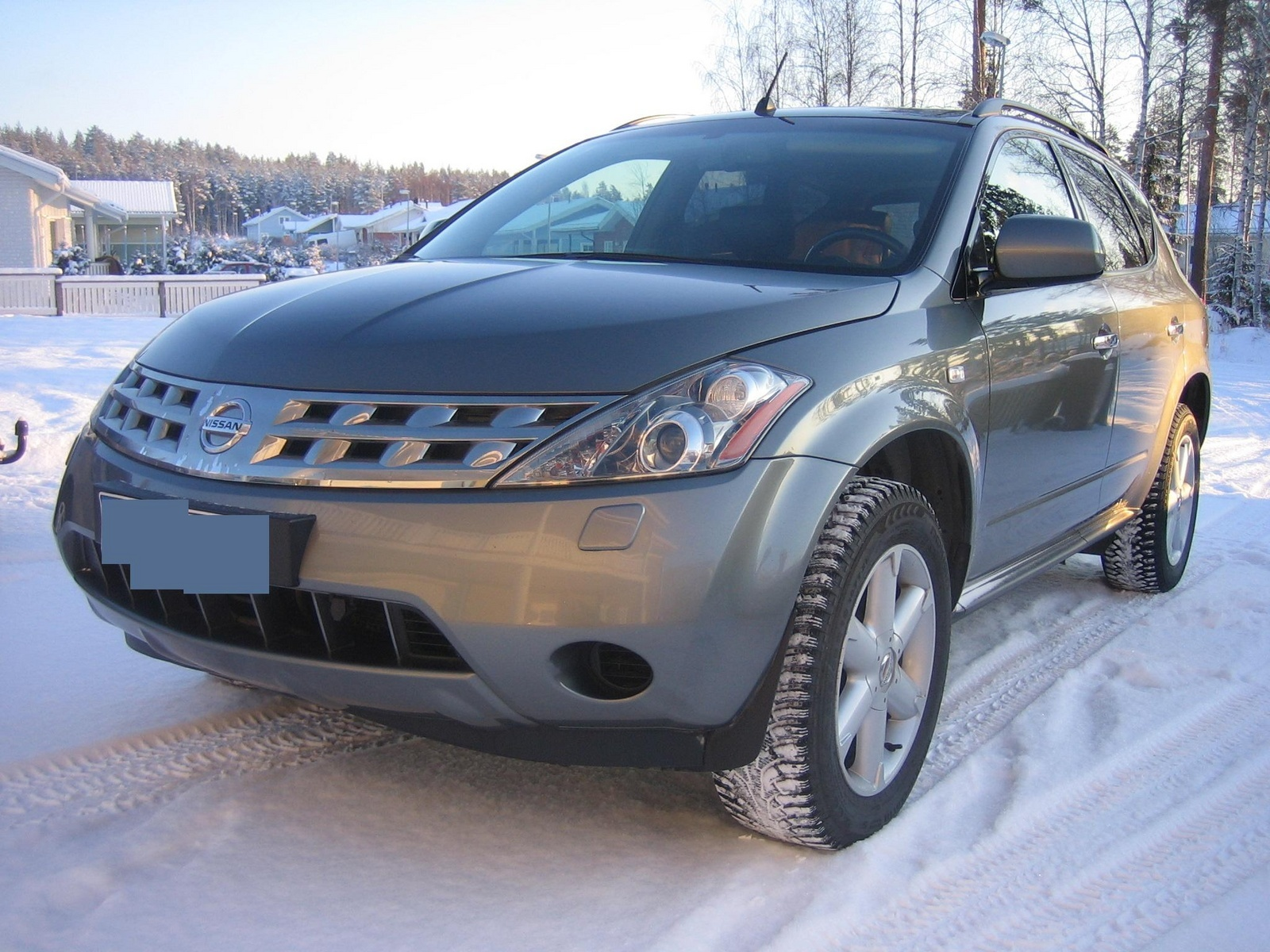 2006 nissan murano overview cargurus. Black Bedroom Furniture Sets. Home Design Ideas