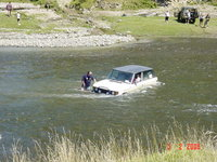 1978 Land Rover Range Rover, They can swim??, exterior
