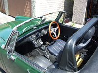 1972 MG Midget picture, interior