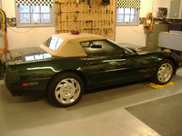 1994 Chevrolet Corvette Convertible, Picture of 1994 Chevrolet Corvette 2 Dr STD Convertible, exterior