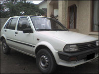 1987 Toyota Starlet Picture Gallery