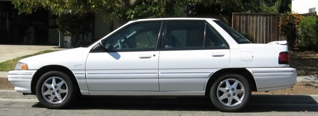 Picture of 1995 Mercury Tracer 4 Dr LTS Sedan