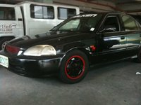 1996 Honda Civic EX, finished product, exterior