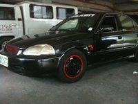 1996 Honda Civic EX, finished product, exterior