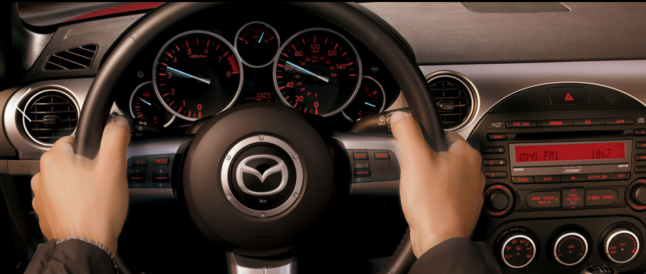 2012 Mazda MX-5 Miata, Steering Wheel. , manufacturer, interior