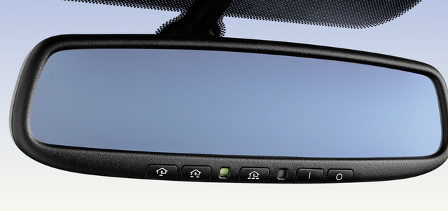 2012 Mazda MX-5 Miata, Close-up of rear view mirror. , interior, manufacturer