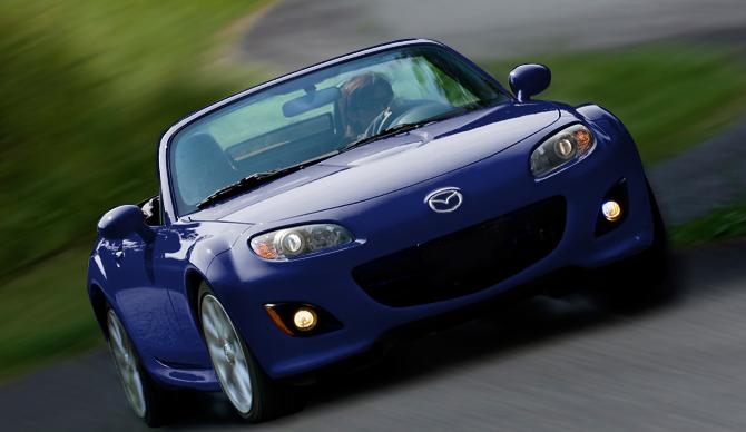 2012 Mazda MX-5 Miata, Front VIew. , exterior, manufacturer