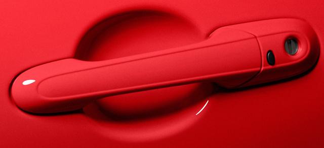 2012 Mazda MX-5 Miata, Close-up of door handle. , exterior, manufacturer