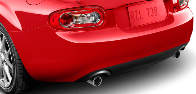 2012 Mazda MX-5 Miata, Rear bumper. , exterior, manufacturer